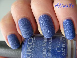 Kiko sugar mat 644 Sea Blue 3