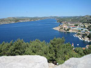 10-vue depuis chateau Sibenik