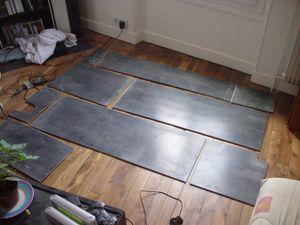 j 575 jour 193 repose du sol et miroir de la salle de bain du bas notre petite maison. Black Bedroom Furniture Sets. Home Design Ideas