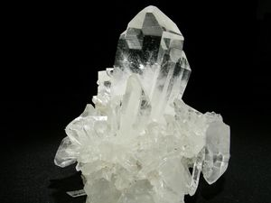 cristal de roche plumes bijoux
