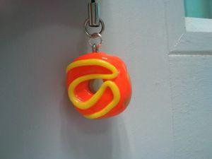 donut orange