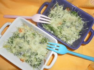 23. Gratin Brocoli Fourme d'Ambert