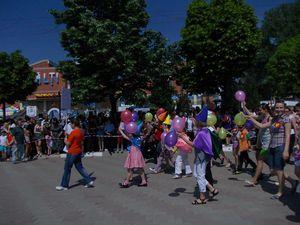 copiii la parada