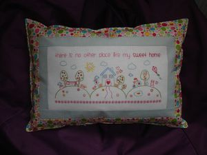 Melly and melly and me cushion