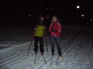 039 : Session ski de fond avec Jaana, Iisalmi