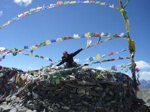062 : Arrivee au col de Ganda, 4970m!!! Trek J2
