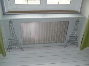 tuto comment fabriquer un cache radiateur le blog de v. Black Bedroom Furniture Sets. Home Design Ideas