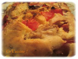 cake poulet, tomate, curry (8)