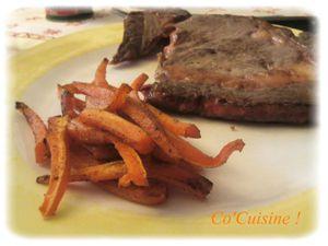 Carotte façon frite au four (7)