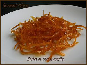 candied_peel simple - Sweet lemon zest