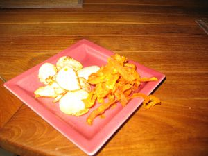 chips carottes navets