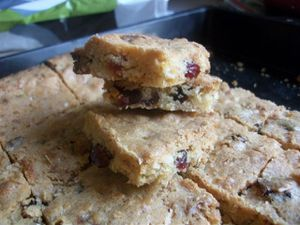 BLONDIES CHOCO BLANC CRAMBERRIES7