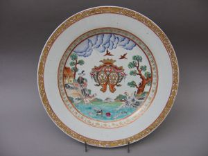 porcelaine-compagnie-indes-armoiries