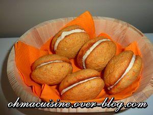 Whoopie pies carotte érable