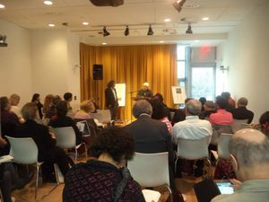 Stanley Barkan at the POETS' HOUSE