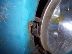 fixation du cuvelage métal b