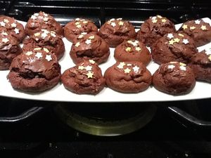 laura - les cookies brownies