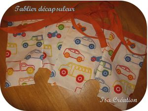 Tablier décapsuleur