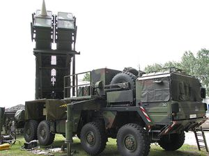 Patriot system of the German Air Force