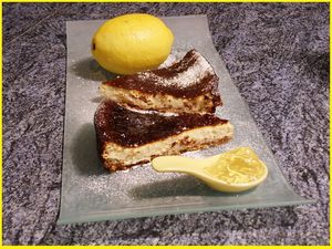 Cheese cake citron 1