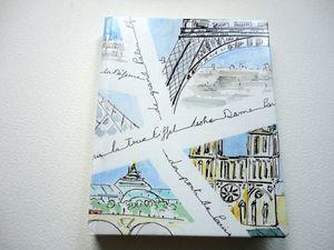 Le Temps d'un carnet - Carnet Paris