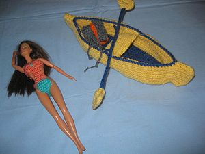 canoe tricot barbie