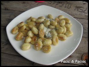 gnocchi al gorgonzola