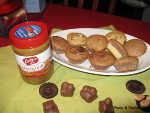 muffin speculoos
