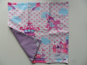 serviette de table princesse