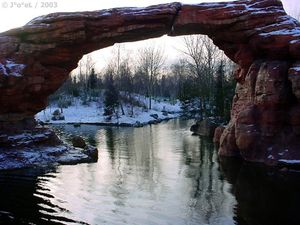 Pont naturel Lake Powel UTAH USA