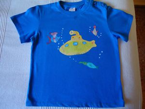 SUBMARINO CAMISETA