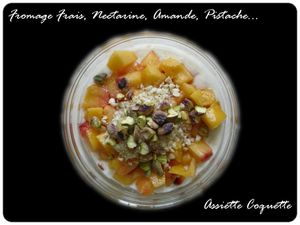 fromage frais nectarine