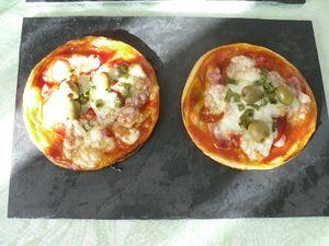 pizza charcutière