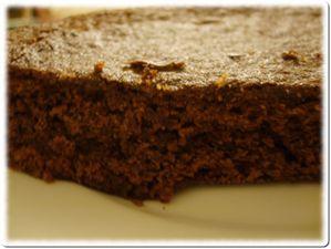 Gâteau chocolat ss oeuf