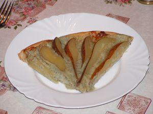 tarte aux poires et roquefort (1)