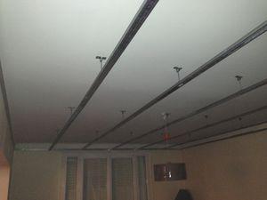 Op ration chaleur en hiver phase i le blog jexiste for Montage plafond suspendu placo