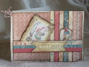 carte avec tags Stampin'Up!