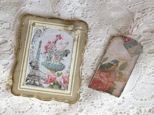 Tags vintage Stampin'Up!
