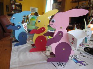lapins de Pâques 2013