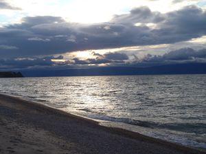 P9160585 - sur la plage à côté de Khoujir