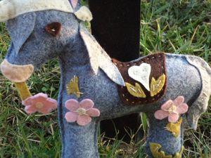 Perceval le cheval feutrine