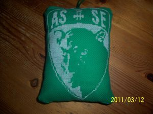 coussin ASSE recto