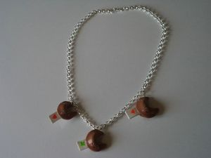 collier fortune cookies fimo (2)