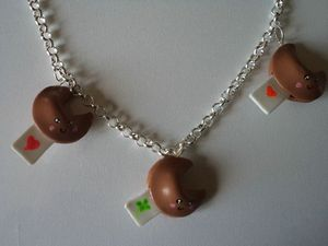 collier fortune cookies fimo (3)