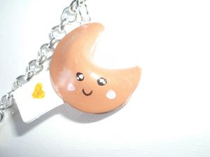 collier fortune cookies fimo