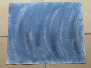 Toile aïda 7 pts bleu jean (2)