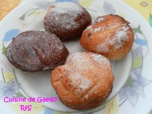 beignets compote pomme - confiture