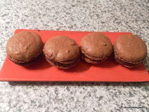 Macaron chocolat Tupperware livre Mignardise & Chocolat
