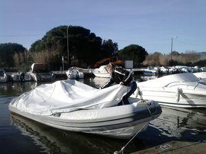 Ancre bateau pneumatique