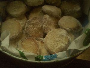 biscuits citron
